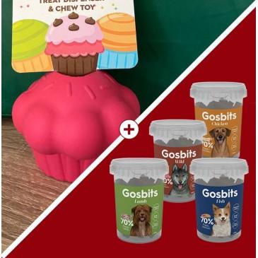 Muffin chargé Gosbits
