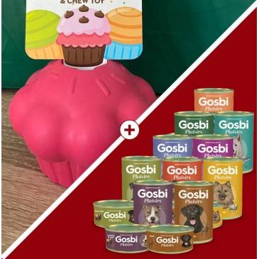 Muffin Chargé Gosbi Plaisir